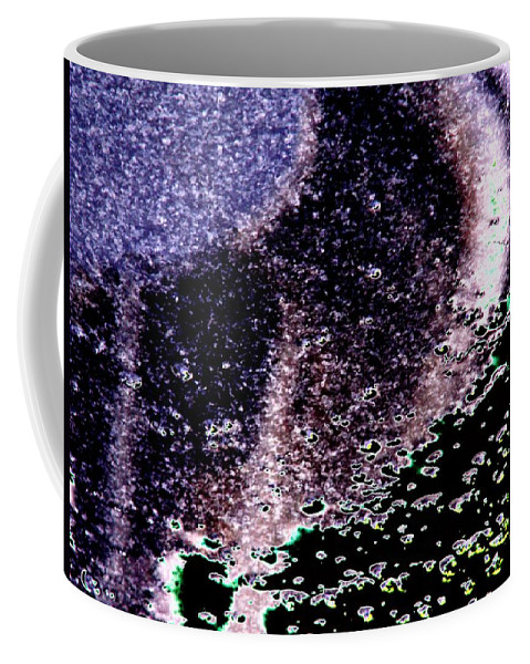 Seattle Coffee Mug featuring the digital art Needle Reflect by Tim Allen