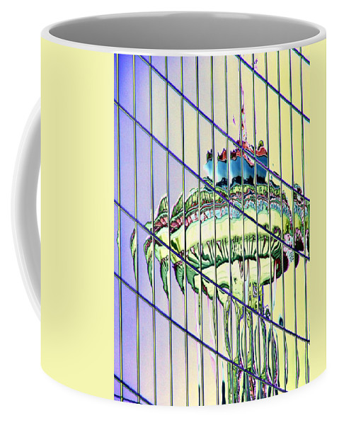 Seattle Coffee Mug featuring the photograph Needle Reflection 2 by Tim Allen