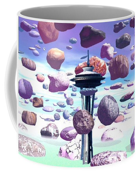 Seattle Coffee Mug featuring the photograph Needle Rocks by Tim Allen