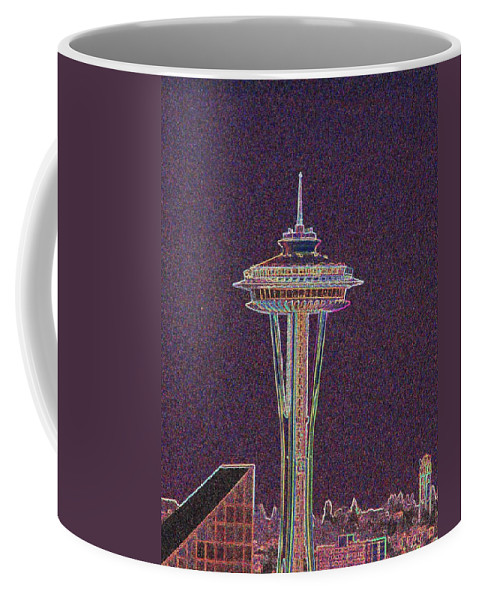 Seattle Coffee Mug featuring the photograph Needle by Tim Allen