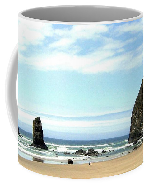 Needles Coffee Mug featuring the photograph Needles And The Haystack by Will Borden
