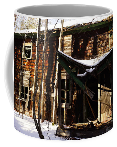Barns Coffee Mug featuring the photograph Needs A Little Work by Jeffery L Bowers