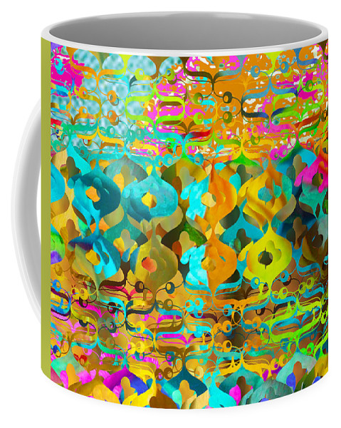 Abstract Coffee Mug featuring the digital art Nemo by Ceil Diskin