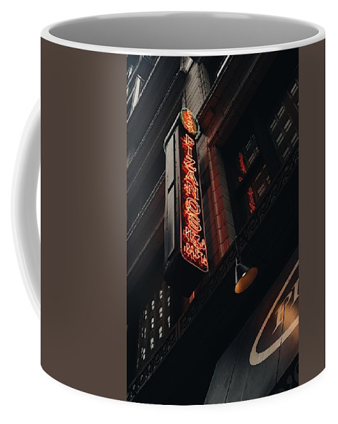 Photography Coffee Mug featuring the photograph Neon At Noon by Olivia Collins
