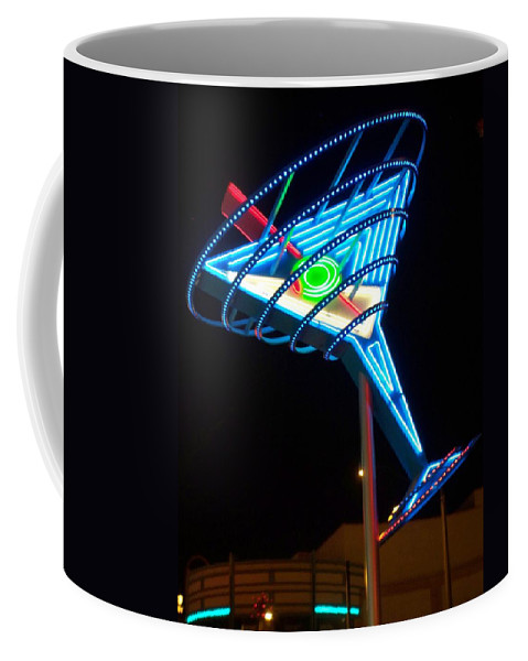 Fremont East Coffee Mug featuring the photograph Neon Signs 4 by Anita Burgermeister