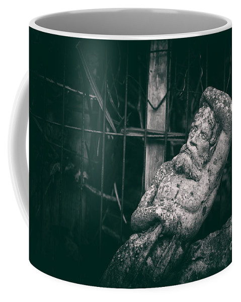 Statue Coffee Mug featuring the photograph Neptune by Clayton Bastiani