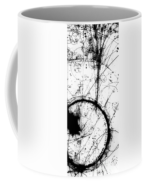 Science Coffee Mug featuring the photograph Neutrino, Bubble Chamber Event by Science Source