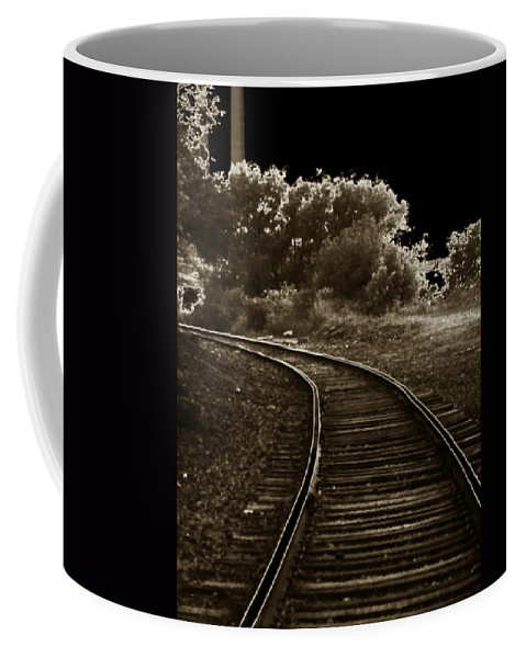 Outside Coffee Mug featuring the photograph Never A Straight Path by Charleen Treasures