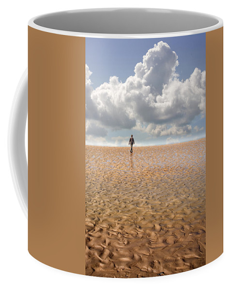 Landscape Coffee Mug featuring the photograph Never Go Back by Mal Bray
