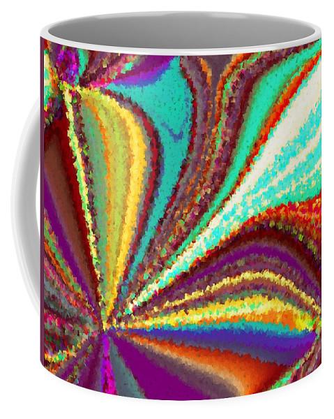 New Coffee Mug featuring the digital art New Beginning by Tim Allen