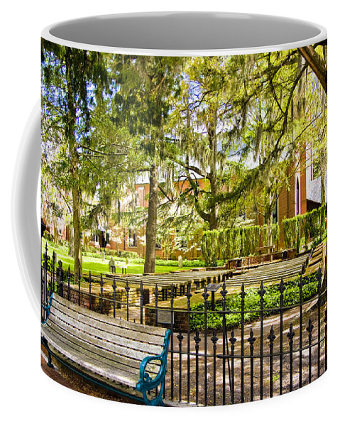 North Carolina Coffee Mug featuring the digital art New Bern Street Scene by Ches Black