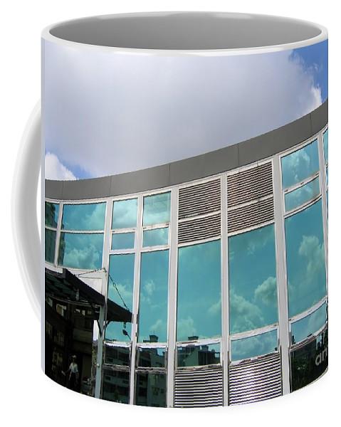 Modern Coffee Mug featuring the photograph New Company Building by Yali Shi