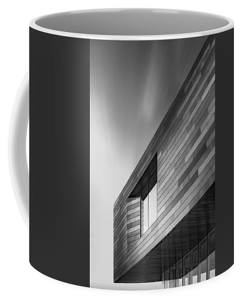 Architecture Coffee Mug featuring the photograph New Addition by Scott Norris