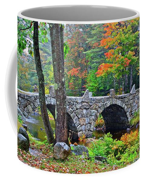 Bridge Coffee Mug featuring the photograph New Hampshire Bridge by Diana Hatcher