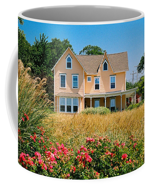 Landscape Coffee Mug featuring the photograph New Jersey Landscape by Steve Karol