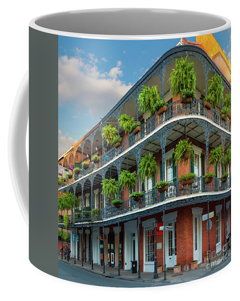 America Coffee Mug featuring the photograph New Orleans House by Inge Johnsson