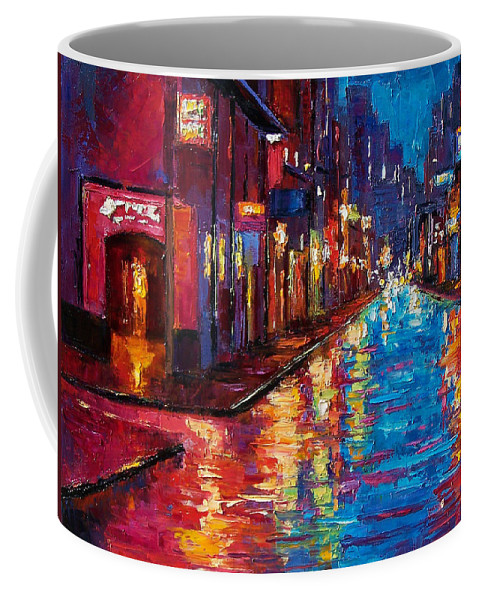 New Orleans Coffee Mug featuring the painting New Orleans Magic by Debra Hurd