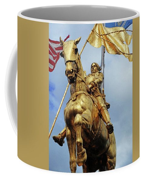 New Orleans Coffee Mug featuring the photograph New Orleans Statues 13 by Ron Kandt