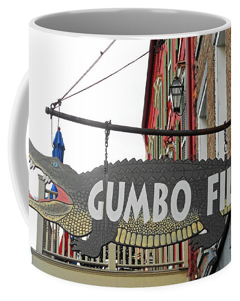 New Orleans Coffee Mug featuring the photograph New Orleans Statues 21 by Ron Kandt