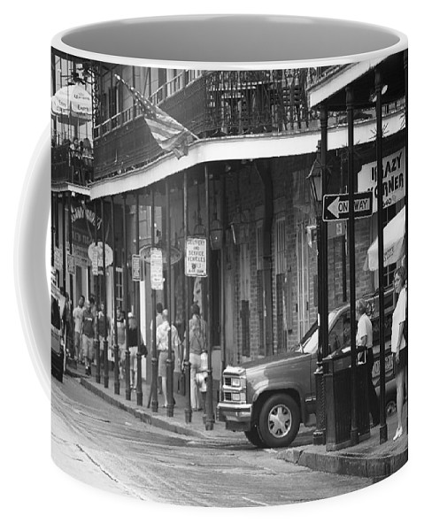 America Coffee Mug featuring the photograph New Orleans Street Photography 2 by Frank Romeo