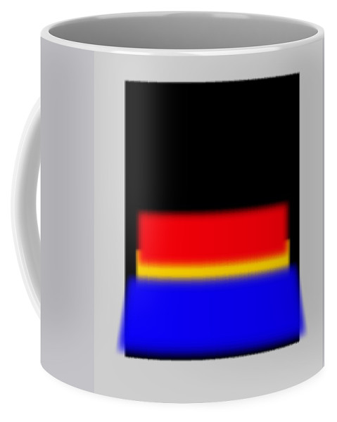 Rothko Coffee Mug featuring the painting New Reality by Charles Stuart