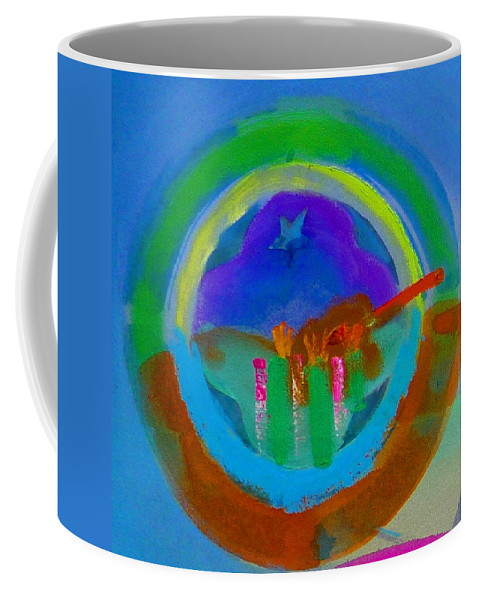 Love Coffee Mug featuring the painting New World Spring by Charles Stuart