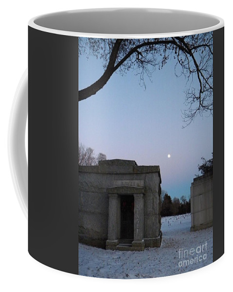Landscape Coffee Mug featuring the photograph New Year's Eve Tranquility by Kristy Evans