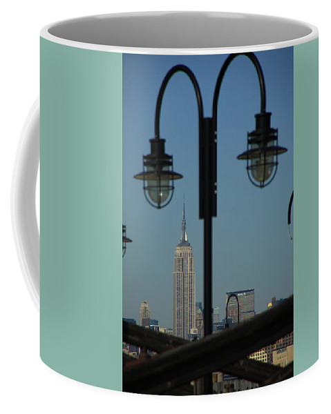 Posters Coffee Mug featuring the photograph New York City by Frank Romeo