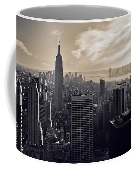 New York Coffee Mug featuring the photograph New York by Dave Bowman
