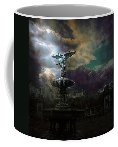 New York Coffee Mug featuring the photograph New York Series Number 3 by Jeff Burgess