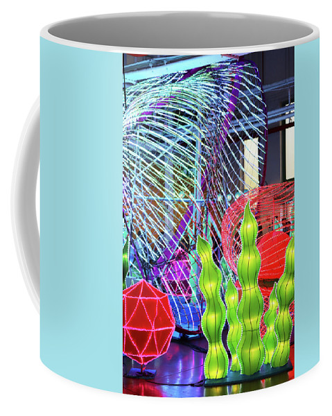 New York State Chinese Lantern Festival Coffee Mug featuring the photograph New York State Chinese Lantern Festival 4 by David Stasiak
