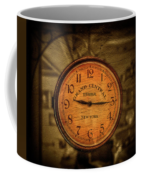 Antique Coffee Mug featuring the photograph New York Times by Evelina Kremsdorf