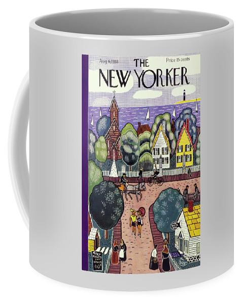 New Yorker August 6, 1938 Coffee Mug