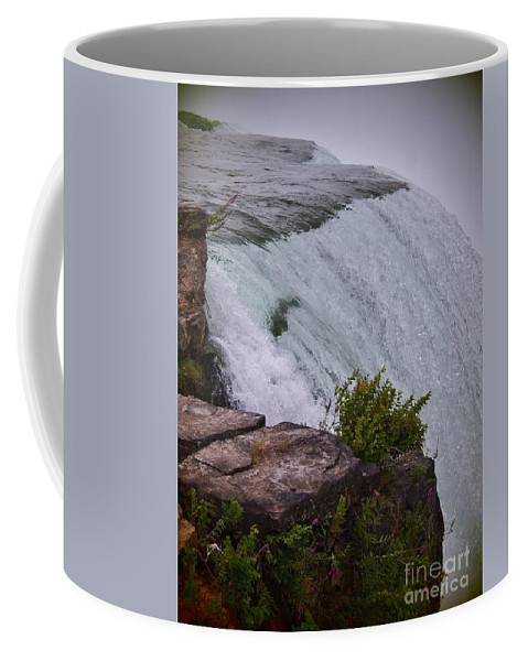 Niagara Falls Coffee Mug featuring the photograph Niagara Fall Edge by Jennifer Craft