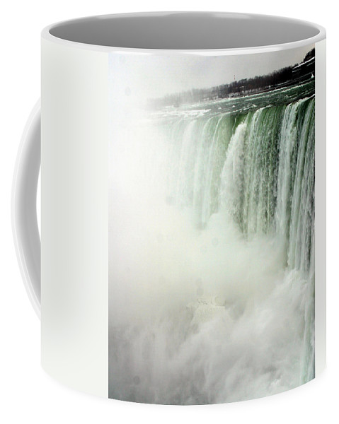 Landscape Coffee Mug featuring the photograph Niagara Falls 4 by Anthony Jones