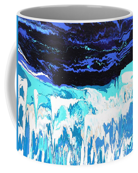 Fusionart Coffee Mug featuring the painting Niagara by Ralph White