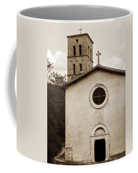 Curch Coffee Mug featuring the photograph Nice Old Church For Wedding by Marilyn Hunt