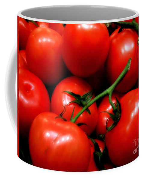 Food Coffee Mug featuring the photograph Nice Tomatoes Baby by RC DeWinter