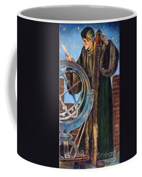 15th Century Coffee Mug featuring the photograph Nicolaus Copernicus by Granger