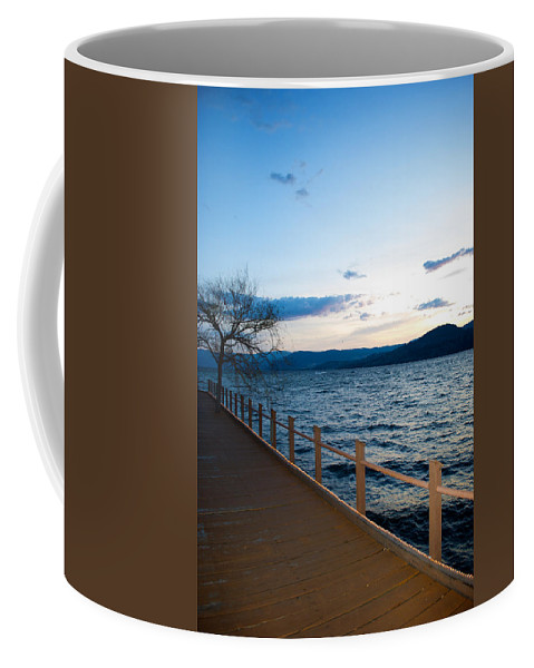 Interior Design Coffee Mug featuring the photograph Night Falls by Lisa Knechtel