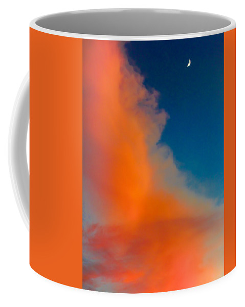 Sky Coffee Mug featuring the photograph Night Is Nigh by Nelson Strong
