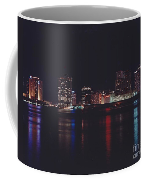 Night Scape Coffee Mug featuring the photograph Night Scape by Michelle Powell