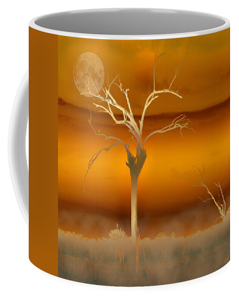 Landscapes Coffee Mug featuring the photograph Night Shades by Holly Kempe