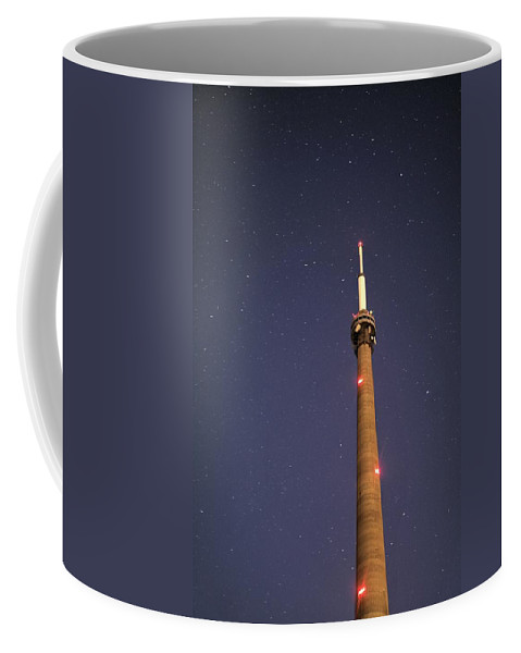 Space Coffee Mug featuring the photograph Night Sky by Leslie Schofield