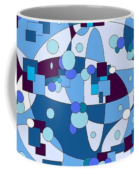 Digital Artwork Coffee Mug featuring the digital art Nightall by Jordana Sands