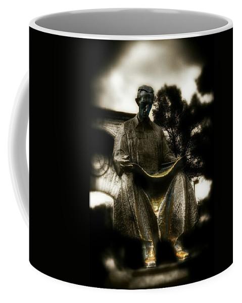 Tesla Coffee Mug featuring the photograph Nikola Tesla by Shelley Smith