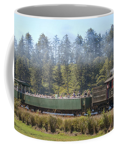 Steam Engine Coffee Mug featuring the photograph No 2 by Kristina Rinell