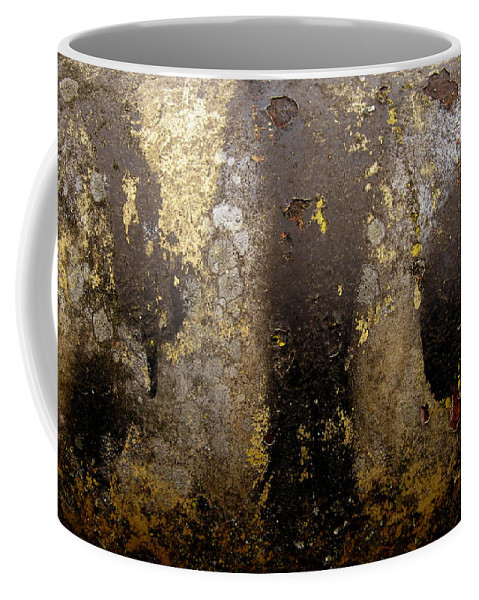 Abstract Coffee Mug featuring the photograph NO by Elaine Booth-Kallweit