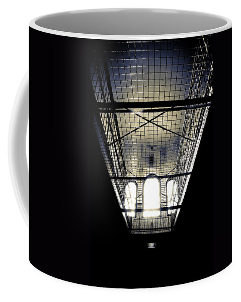 Sign Coffee Mug featuring the photograph No Exit by Kelly Jade King
