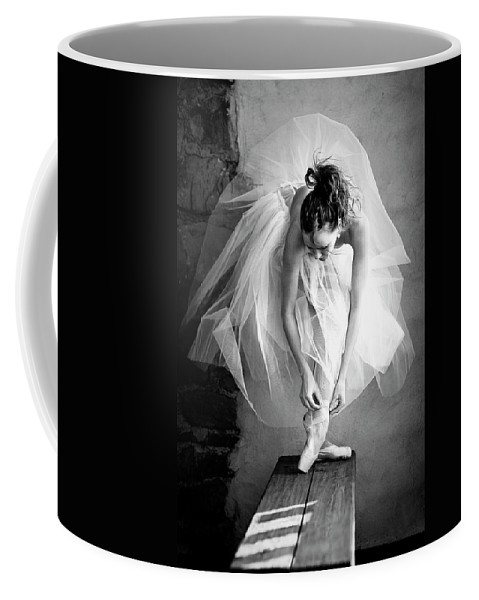 Ballet Coffee Mug featuring the photograph no name IV by Sofig Art Photo